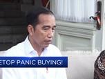 Hadapi Corona, Pemerintah: Setop Panic Buying