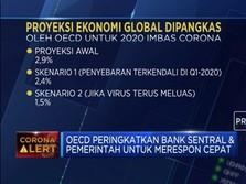 Dampak Corona, EOCD Proyeksi Ekonomi Global Ke Level Terendah