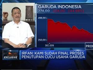 Target Kinerja, GIAA Segera Tutup Cucu Usaha & Refinancing