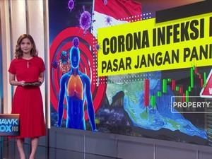 Corona Infeksi RI Pasar Jangan Panik!
