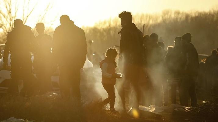 Begini Nasib Pengungsi Perang Suriah yang Coba Tembus Eropa
