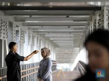 Pagi Ini Jalanan Jakarta Disemprot Disinfektan, Ini Lokasinya