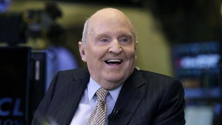 Jack Welch yang memimpin General Electric (GE) selama 20 tahun meninggal dunia