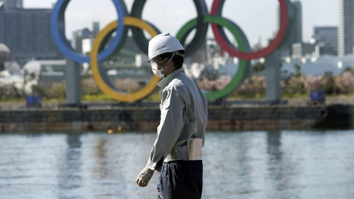 Di tengah merebaknya wabah virus corona, Jepang masih tetap menyiapkan Olimpiade sesuai rencana.