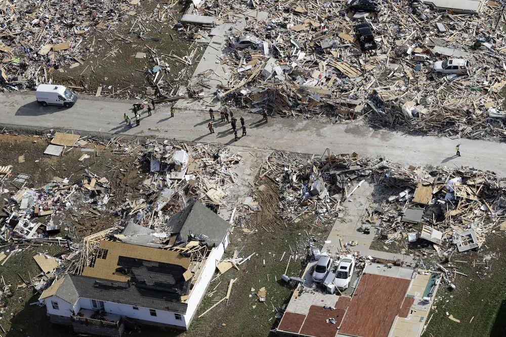 Badai Tornado menerjang Amerika Serikat (AS), begini kondisinya saat ini.