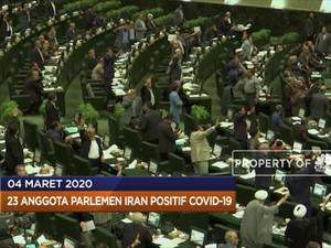 Ekonomi RI Terancam hingga 23 Parlemen Iran Positif Corona