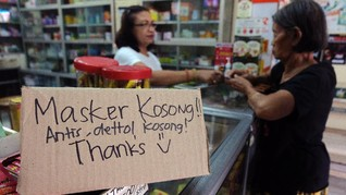 KPPU Temukan Pasokan Masker Berkurang Drastis di Medan