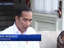 Jokowi Minta Polri Tindak Tegas Pihak yang Menimbun Masker