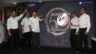 Ganti Logo 50 Tahun, Komitmen Jamkrindo Membangun Negeri