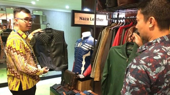Naza Leather memproduksi beragam produk buatan kulit domba asli dengan kualitas premium dan kini sedang menyasar pasar ekspor.