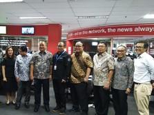 Bank Mandiri Lakukan Kunjungan Persahabatan ke Detik Network