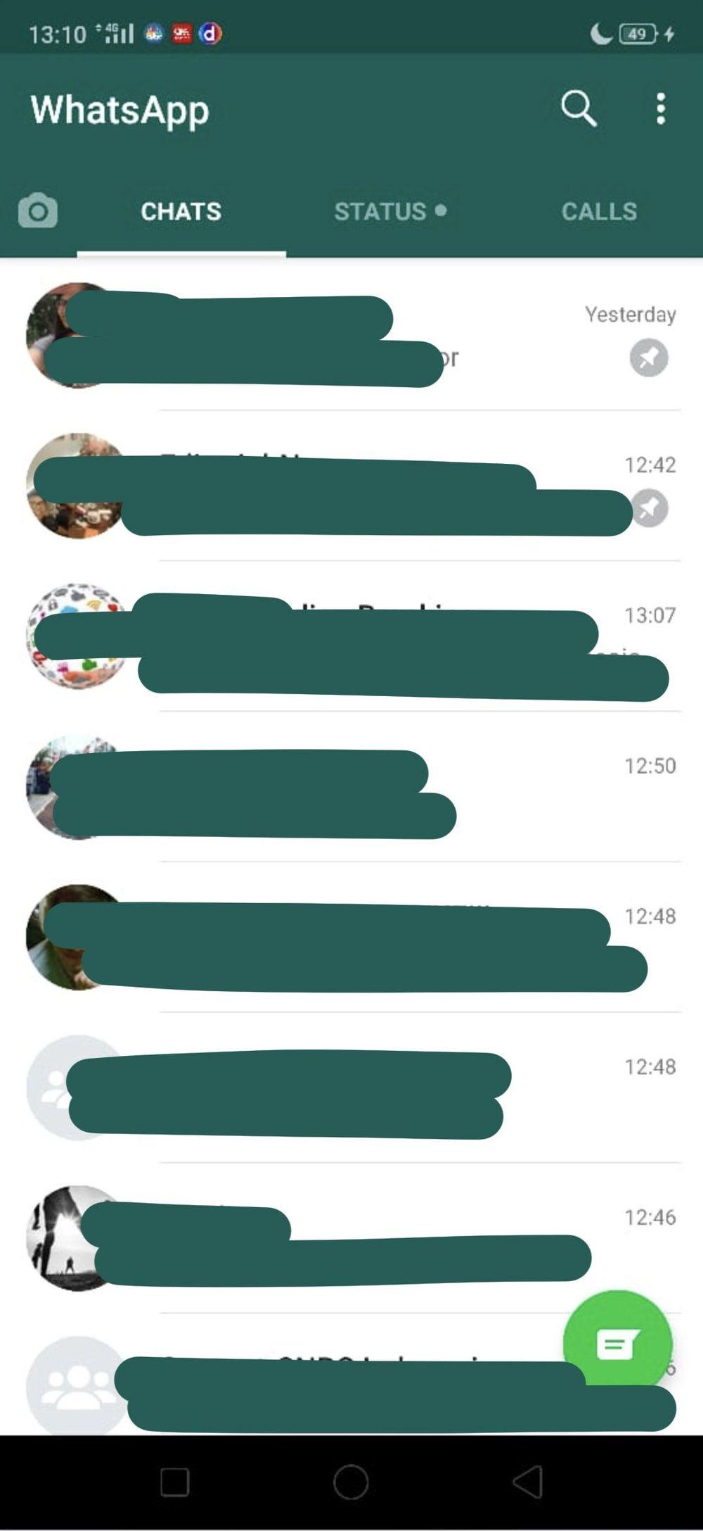 WhatsApp dark mode secara resmi dirilis hari ini (4/3/2020). Pengguna Android dan iPhone sudah bisa menikmati. Bila belum ada baiknya lihat deretan foto ini.
