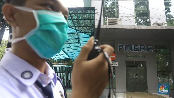 RSUP Persahabatan Terima 10 Pasien Pengawasan Corona. (CNBC Indonesia/Andrean Kristianto)