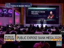 Public Expose 2020, Ini Daftar Kinerja Positif Bank Mega