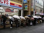 Heboh Panic Buying Landa Dunia: dari Jepang, Prancis ke AS