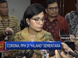 Efek Corona, Sri Mulyani Sementara Hilangkan PPH 21