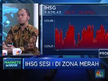 Profit Taking, IHSG Sesi I Masuk Zona Merah