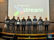 Bidik Pasar Streaming, Transvision Rilis Transvision Xstream