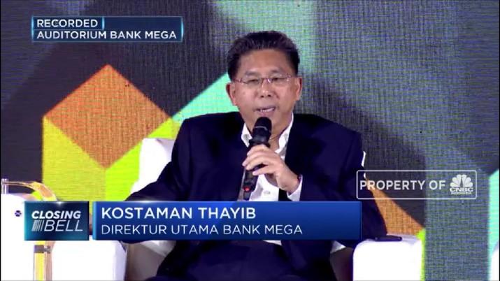 Bank Mega Siap Jadi Buku IV di 2025 (CNBC Indonesia TV)