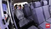 DFSK Gelora E bisa digunakan untuk kendaraan travel untuk menciptakan lingkungan bersih tanpa polusi.(CNN Indonesia/Adhi Wicaksono)