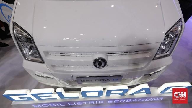 Harga kisaran buat tipe Mini Van disampaikan Rp489 juta - Rp499 juta dan tipe Blind Van Rp469 juta - Rp479 juta. (CNN Indonesia/Adhi Wicaksono)