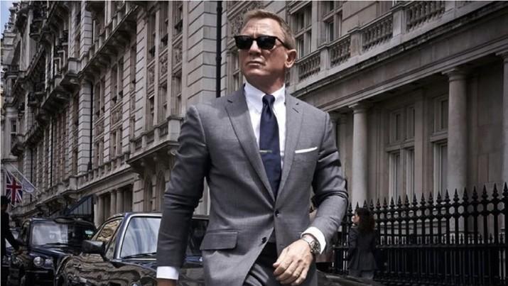 Ilustrasi Foto: Daniel Craig (dok.Twitter James Bond)