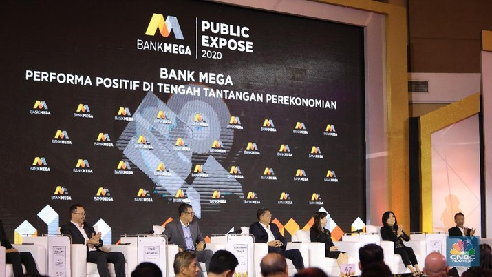 Public Expose Bank Mega 2020. (CNBC Indonesia/Andrean Kristianto)