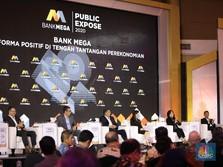 Kuartal I-2020, Laba Bersih Bank Mega Melesat 38,4%