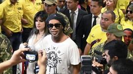 Ronaldinho akan Keluar Penjara Usai Bayar Jaminan Rp25 Miliar