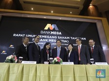 Laba 2019 Melesat, Bank Mega Bagi Dividen Rp 1 Triliun
