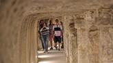 Piramida Djoser yang berusia 4.700 tahun telah direnovasi sekitar 14 tahun. (Mohamed el-Shahed / AFP)