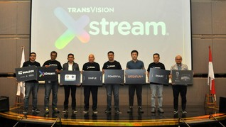Transvision Xstream, Hiburan Streaming Layaknya Smart TV
