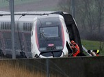 Kereta Cepat Tergelincir di Prancis, Ini Penampakannya