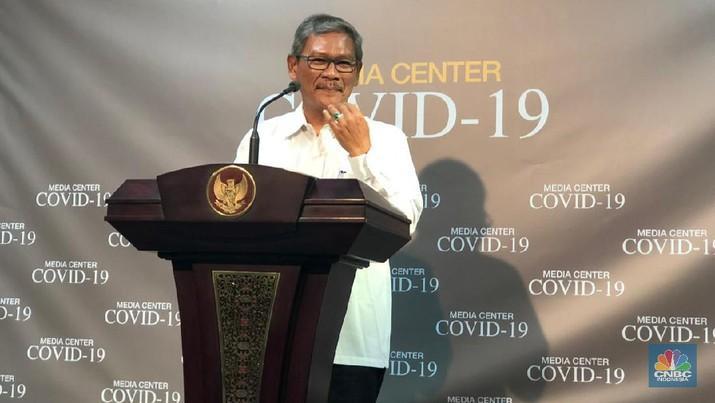 Juru Bicara Pemerintah untuk Penanganan Covid-19 Achmad Yuranto blak-blakan terkait pasien dalam pengawasan (PDP) virus corona