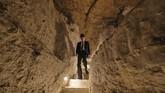 Bagian dalam Piramida Djoser di Mesir yang kini bisa dikunjungi turis.(Mohamed el-Shahed / AFP)