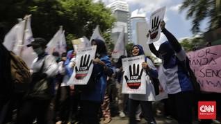 Cegah Corona, Buruh Batal Demo RUU Cipta Kerja di DPR