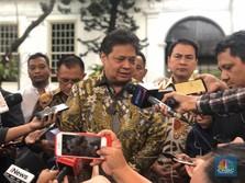 Airlangga Blak-blakan soal Bohir Demo Tolak Omnibus Law