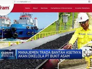 Manajemen Trada Bantah Asetnya akan Dikelola PT Bukit Asam
