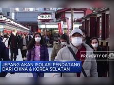 Jepang Wajibkan Karantina Bagi Pelancong Asal China & Korsel
