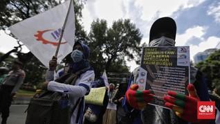 Buruh Desak DPR-Pemerintah Setop Omnibus Law, Fokus Corona