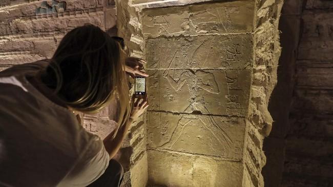 Piramida Djoser adalah bangunan pertama di dunia yang seluruhnya terbuat dari batu. (Mohamed el-Shahed / AFP)