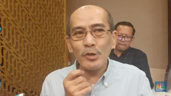 Faisal Basri. (CNBC Indonesia/Anisatul Umah)