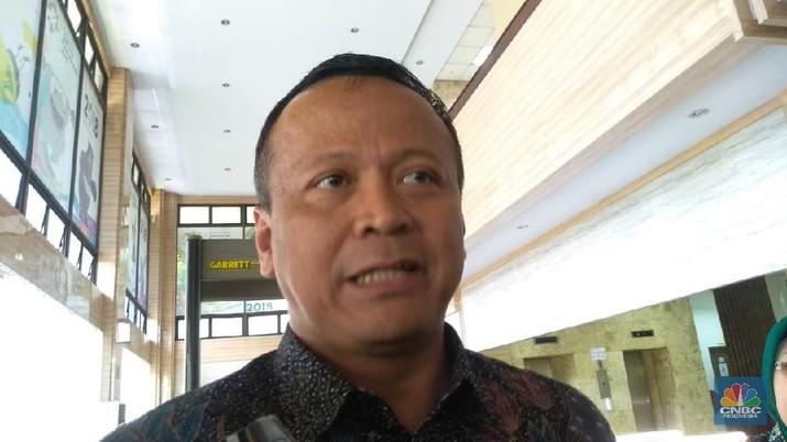 Menteri KKP, Edhy Prabowo (CNBC Indonesia/Cantika Dinda)