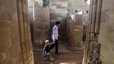 Perdana Menteri Mesir Mostafa Madbouli mengatakan renovasi menelan biaya lebih dari 104 juta pound Mesir (US$ 6,66 juta atau Rp93,7 miliar). (Mohamed el-Shahed / AFP)
