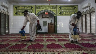 Singapura Tutup Masjid Cegah Corona, Salat Jumat Ditiadakan