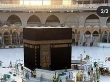 Demi Prokes, Arab Siram 1,4 Juta L Disinfektan Masjidil Haram