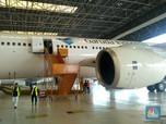 Semester I, Rugi Hanggar Pesawat Garuda GMFI Turun 72%