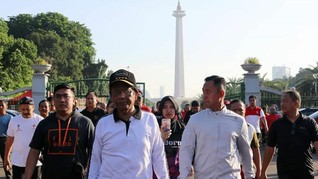 Olahraga dan Tiktok, Mahfud MD Kampanye 'Jangan Takut Corona'