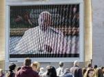 Corona Masuk Vatikan, Paus Pimpin Doa via Live Streaming