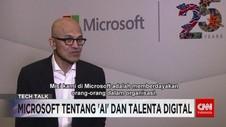VIDEO: CEO Microsoft Tentang 'AI' & Talenta Digital